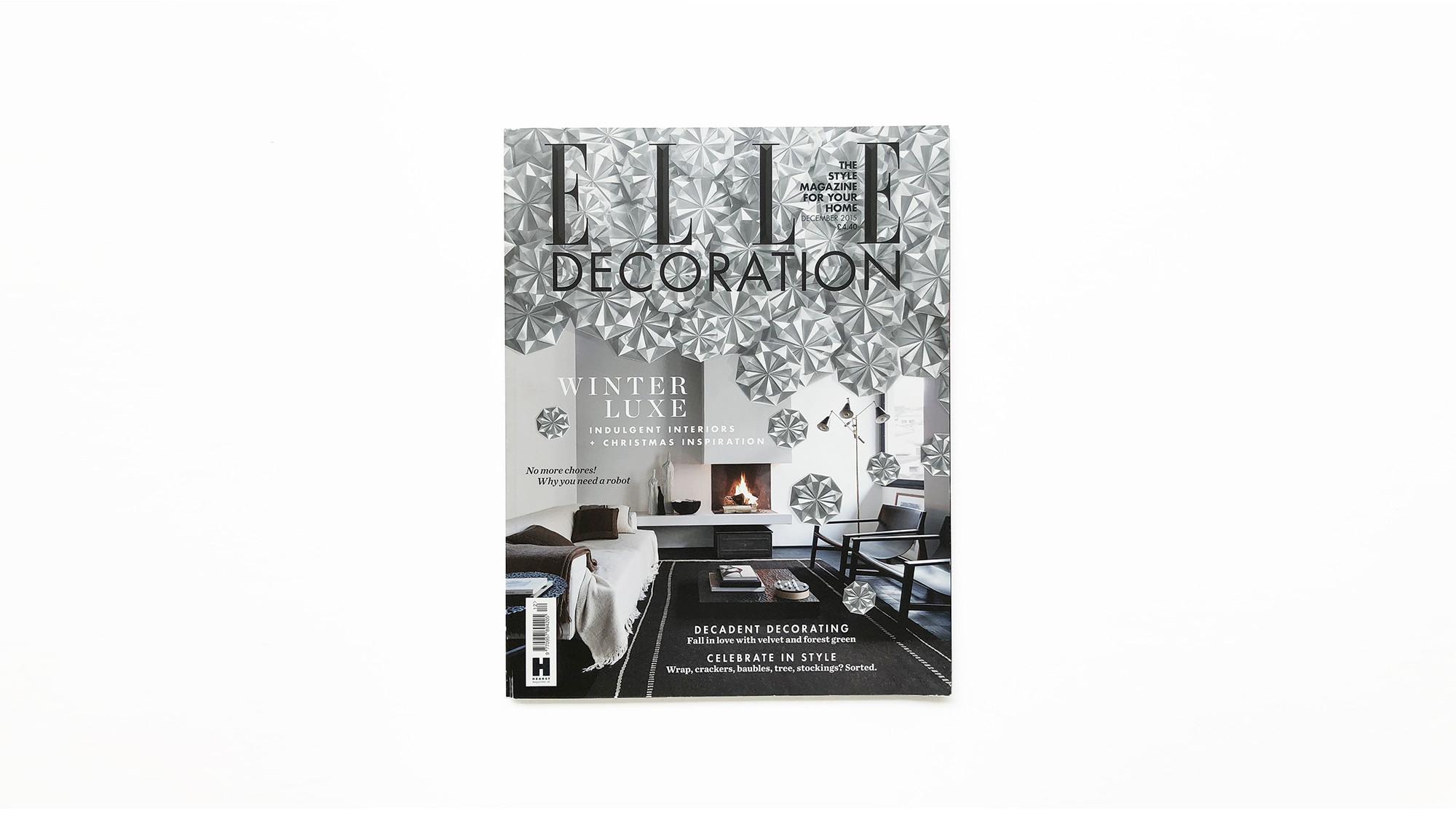 ELLE DECORATION December / 2015